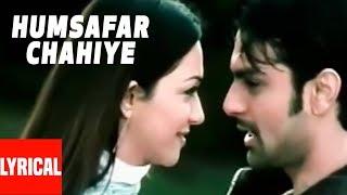 Humsafar Chahiye Lyrical Video | Inteha | Udit Narayan, Alka Yagnik | Ashmit Patel, Nauheed