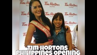 Tim Hortons 1st Philippines/SouthEast Asian Branch Opening
