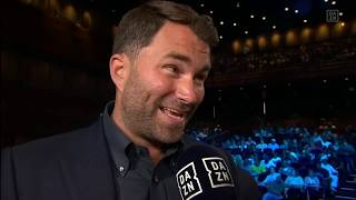 Eddie Hearn Talks Joshua vs. Wilder, Upcoming Fights, And More