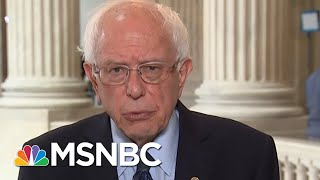 Senator Bernie Sanders A War With Iran Would Be An Absolute Disaster | Velshi & Ruhle | MSNBC