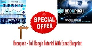 Beonpush| Earn Money $5 to $100 Daily With Support and Training Bangla Full Tutorial Part-I