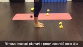 Esercizi per il piede