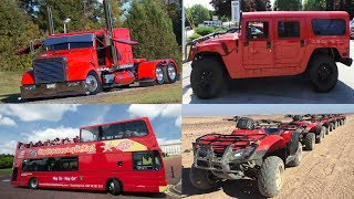 Red Transport and Vehicles for Children - Learn Cars and Trucks Names