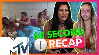 GEORDIE SHORE SEASON 11 | EPISODE 8 IN 6O SECS!! | MTV