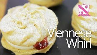Viennese Whirl Sandwich Biscuit Recipe
