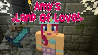 Amy's Land Of Love! Ep.126 The Knights Tale!   Minecraft   Amy Lee33