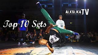 BBOY MORRIS - Top 10 Sets