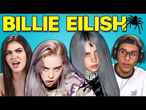 TEENS REACT TO BILLIE EILISH