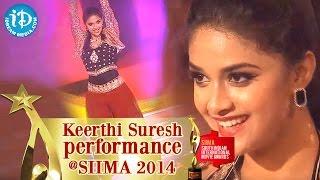 Keerthi Suresh Amazing Dance@ SIIMA 2014, Malayalam