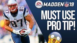 Madden 19 Secret Pro Tip to Pick Up More Yards!