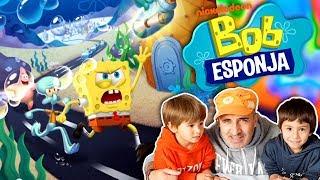 JUEGO de 🍔  BOB ESPONJA 🍔 en 🦀  FONDO DE BIKINI 🦀  App Gratis Nickelodeon para niños