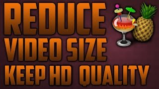 How To Reduce Video Size But Keep HD Quality (HandBrake Tutorial)