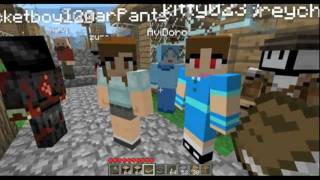 Minecraft SMP: Village Madness Part #13: Robot Returns