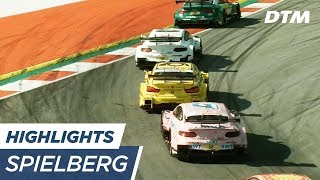 Highlights Race 1 - DTM Spielberg 2017