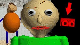 THE STORY BEHIND BALDI REVEALED + EASTER EGG! | Baldi