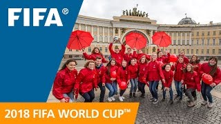 FIFA Launches Russia 2018 Volunteer Programme