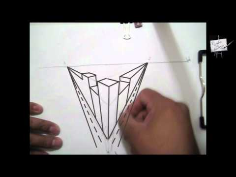 Cómo proyectar sombras Dibujar con tres puntos de fuga Dibujo Clases Curso