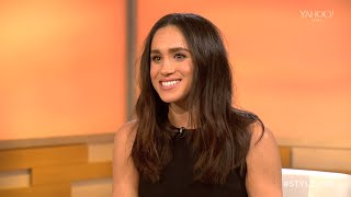 Meghan Markle at Lunch Hour @ New York Fashion Week