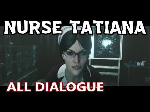 Xxx Mp4 The Evil Within 2 All Nurse Tatiana Dialogue Missable Story Insights 3gp Sex