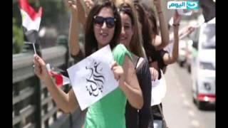 """#تغطية_خاصة اغنية نانسي عجرم """"علي البركة"""" بمناسبة افتتاح قناة السويس الجديدة"""