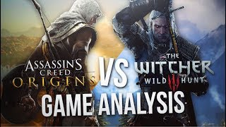 Assassin's Creed Origins Is Too Similar To The Witcher 3 (Apparently)