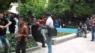 İranda küçə musiqisi / Street music in Iran