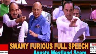 Subramanian Swamy FULL SPEECH Exposing Congress in Agusta Westland Chopper scam