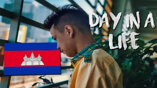 A DAY IN THE LIFE OF A CAMBODIAN HIGH SCHOOL STUDENT!