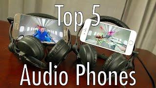 Top 5 Audio Smartphones (of the first half) of 2016!