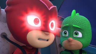 PJ Masks Full Episodes 1 & 2  -  Blame it on the Train, Owlette / Catboy's Cloudy Crisis