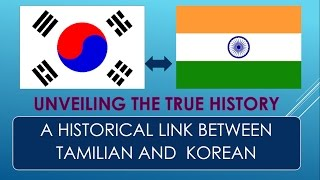 WHY THERE IS SIMILARITIES IN KOREAN AND TAMIL WORD PRONUNTIATION?  UNVEILING THE TRUE HISTORY..!!