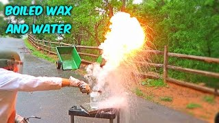 What Will Happen If You put Boiled Wax into Water