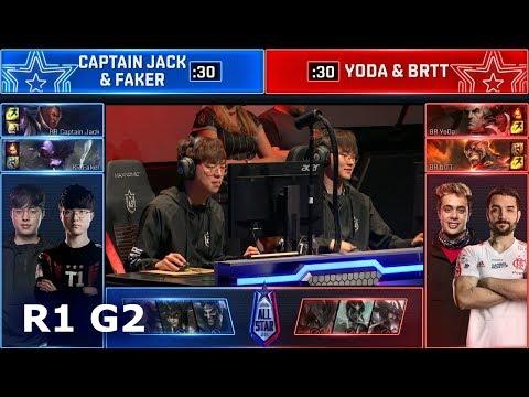 Xxx Mp4 Faker Amp Captain Jack Vs BrTT Amp YoDa 2v2 2018 AllStar Las Vegas KR Captain Faker Vs BR Yot 3gp Sex