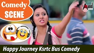 Male | Amulya Prem happy journey - Ksrtc Bus Comedy