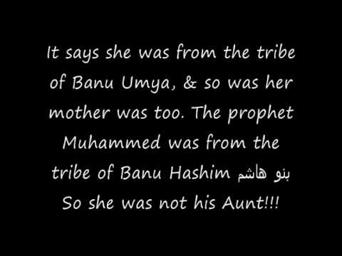 Did Prophet had sex with his own aunt??