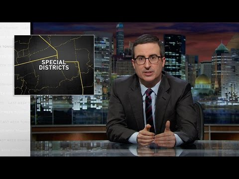 Special Districts Last Week Tonight with John Oliver HBO