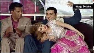 Stage Drama 2016  Afreen Khan & Zafri Funniest Jokes Ever in Punjabi Stage Drama
