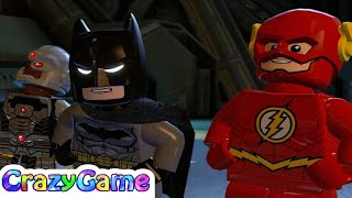LEGO Batman 3 Episode 4 - Wonder Woman, Flash, Superman, Batman vs Joker and Lex Luthor