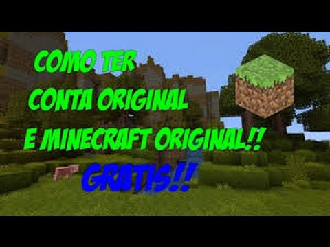 Como Baixar Minecraft Original Gratis + Conta Gratis 2016