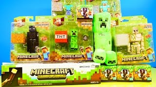 Minecraft Toys Super Unboxing Giant Light Up Torch Blind Box Grass Series 1 By Disney Cars Toy Club