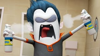 Funny Animated Cartoon | Spookiz Cula's Deodorant Disaster 스푸키즈 | Cartoon for Children
