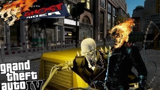 GTA IV LCPDFR Ghost Rider Mod Police Patrol - Episode 6 - Heat Problems & My Operation