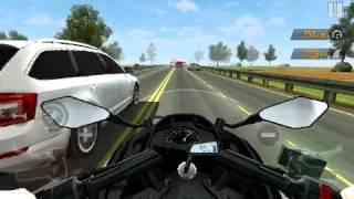 traffic rider #6 eu estava na minha kawasaki de boas ,
