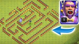 CAN YOU ESCAPE!?! | clash of clans | NEW TH11 MAZE!!