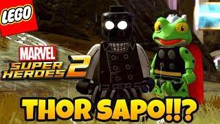 LEGO Marvel Super Heroes 2 PT BR #31 - THOR SAPO E SUA MISSÃO ENGRAÇADA