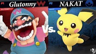 Glutonny (Wario) vs NAKAT (Pichu) Grand Finals - Ultimate Wanted France Smash Tournament