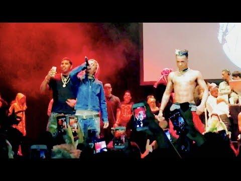 Xxx Mp4 XXXTENTACION Brings Out Lil Pump D Rose Revenge Tour The Novo In LA 3gp Sex