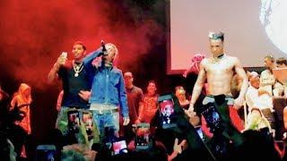XXXTENTACION Brings Out Lil Pump - D Rose - Revenge Tour - The Novo in LA