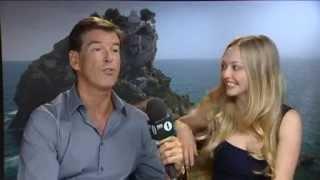 BBC 1: Mamma Mia Interview with Pierce Brosnan & Amanda Seyfried (2008)
