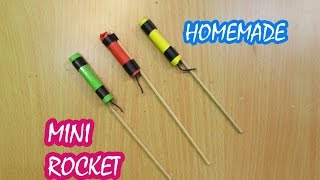 How to Make a Mini Rocket (Home Made) - Easy tutorials